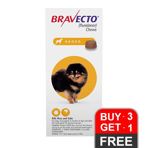 bravecto-112-5mg-4-4-9-9lbs-1-soft-chews-4-yellow-of