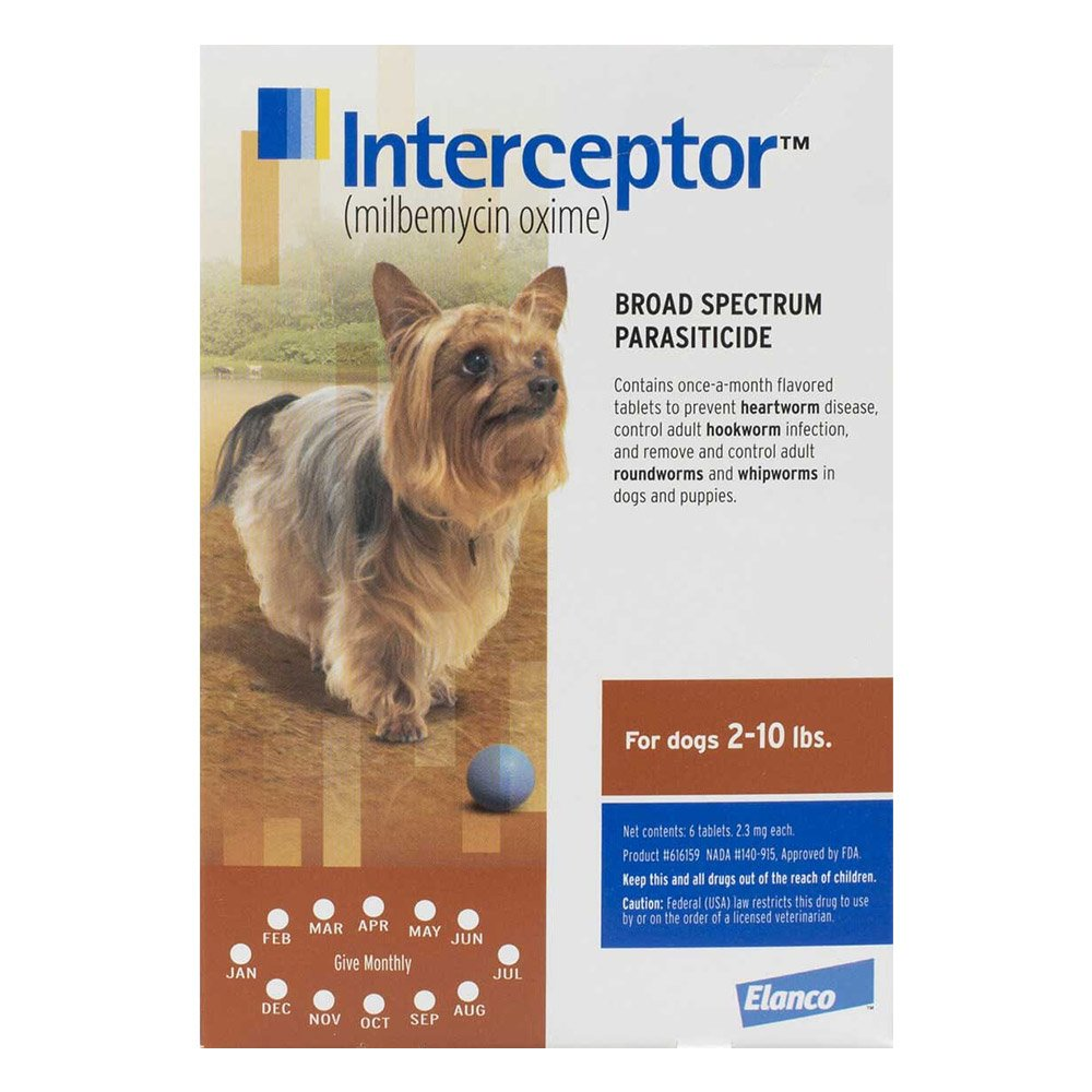 Interceptor For Extra Small Dogs 2-10 lbs (Brown)