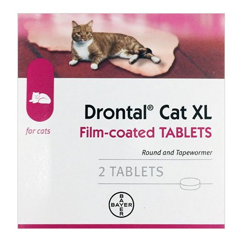 Drontal for Large Cats up to 13lbs