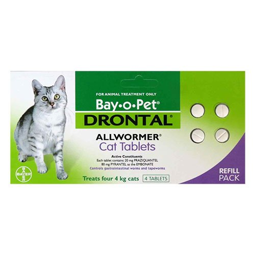 Drontal for Cats up to 8.8lbs