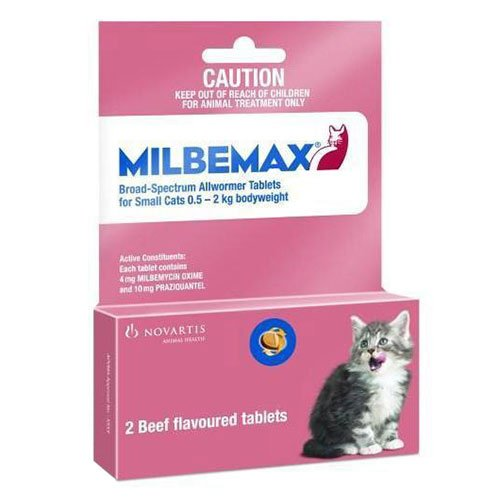 Milbemax  for Small Cats up to 4.4lbs