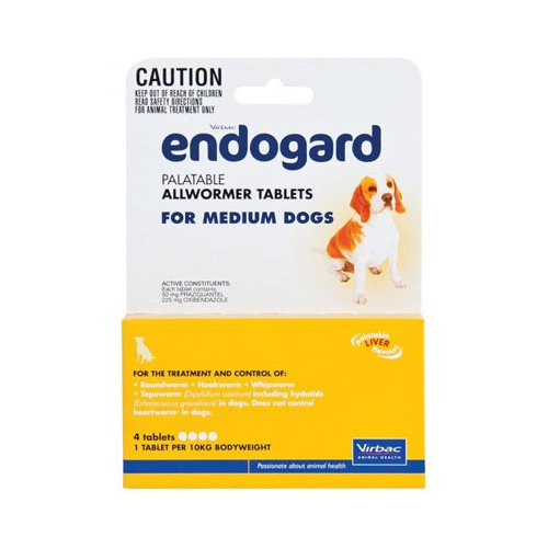 Endogard for Medium Dogs (22lbs)