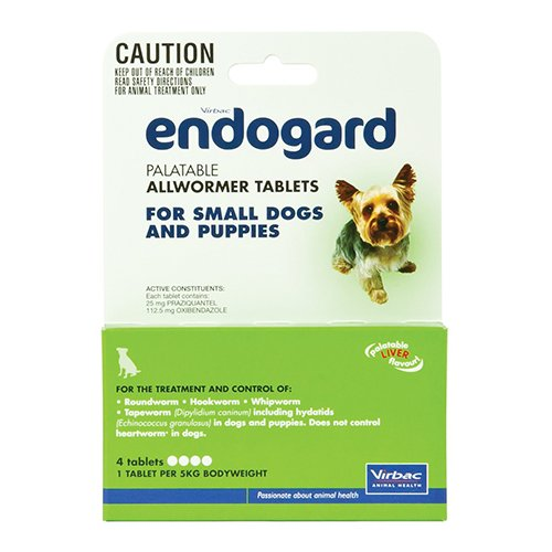Endogard for Small Dogs (11lbs)
