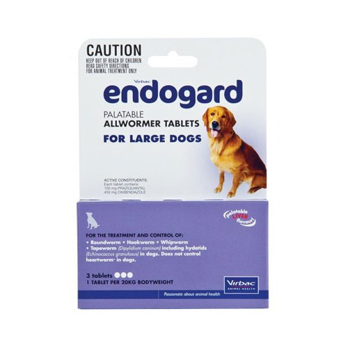 Endogard for Large Dogs (44lbs)
