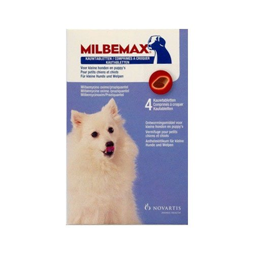 Milbemax Chewable For Small Dogs up to 11 lbs.