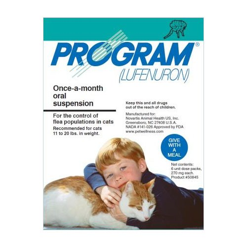 Program Oral Suspension Large Cat 11-20 lbs (Teal)