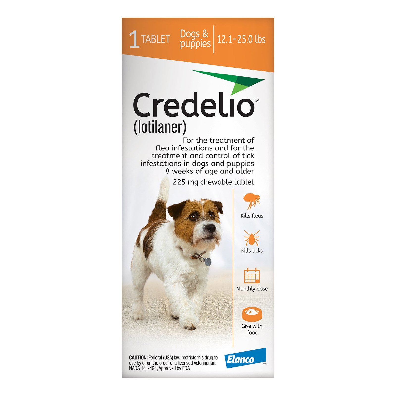 credelio-for-Dogs-12-to-25-lbs-225mg-Orange
