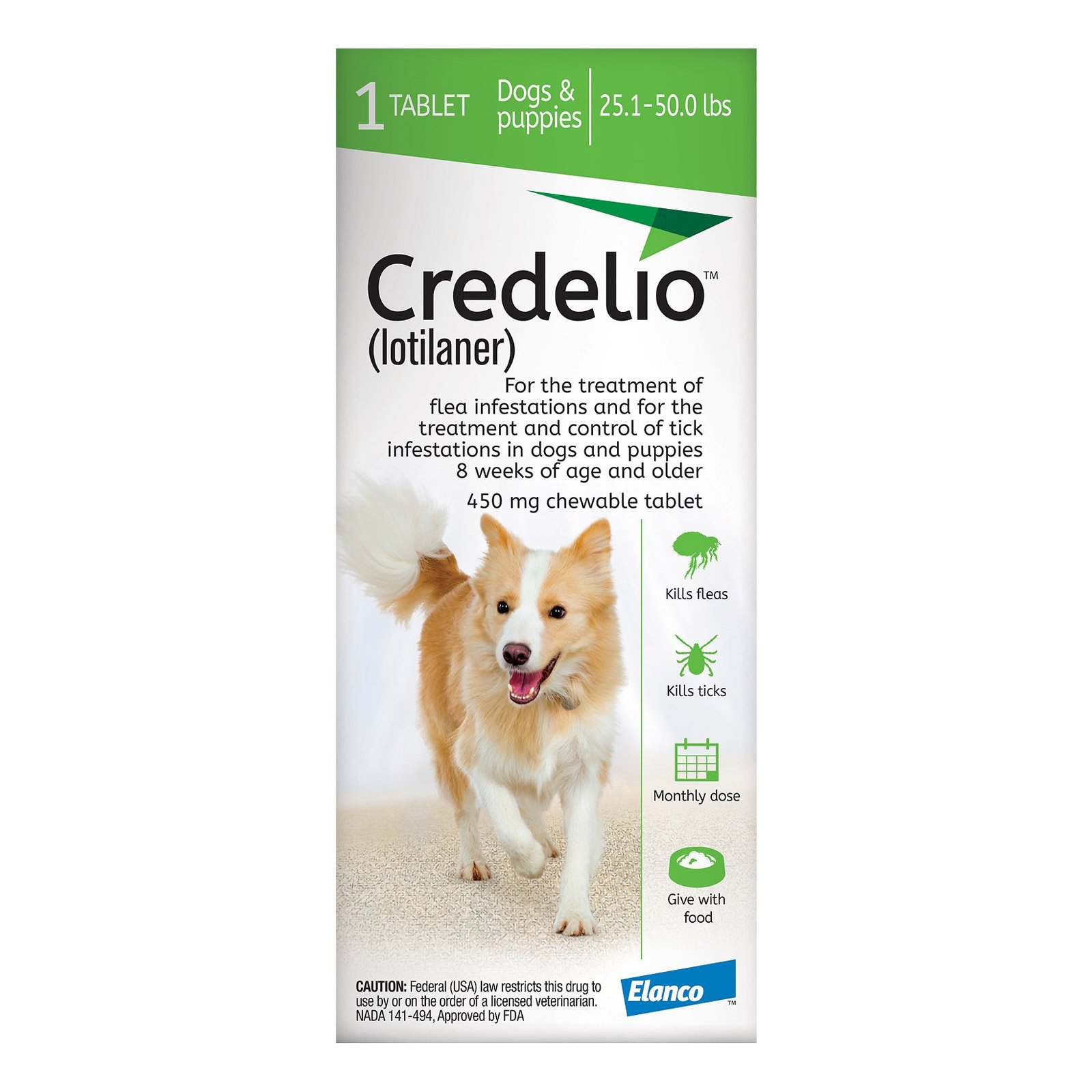 credelio-for-Dogs-25-to-50-lbs-450mg-Green