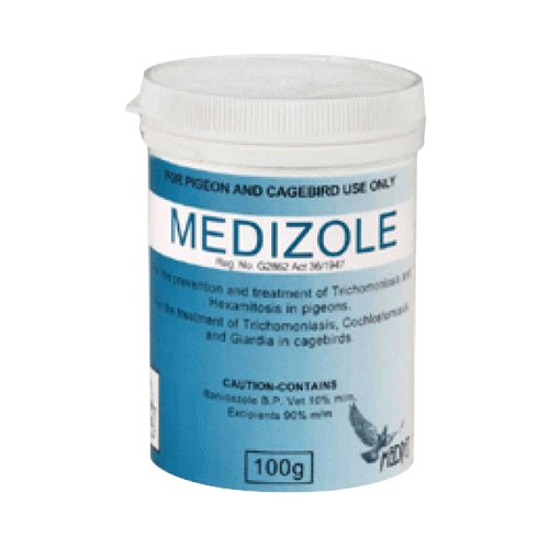 Medizole for Pigeons & Caged Birds