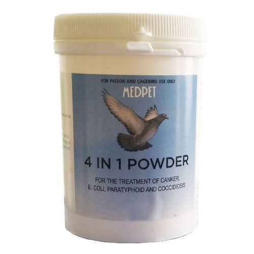 MEDPET 4 IN 1 100 gm Powder