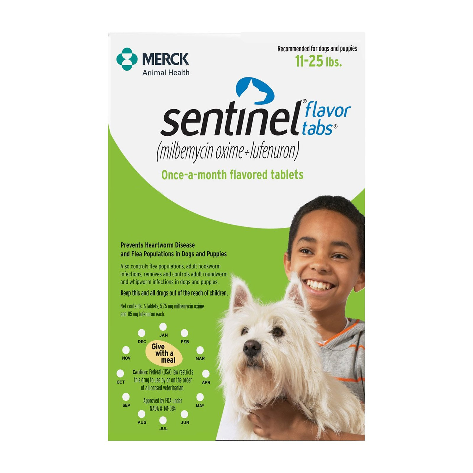 sentinel-for-dogs-11-25-lbs-green