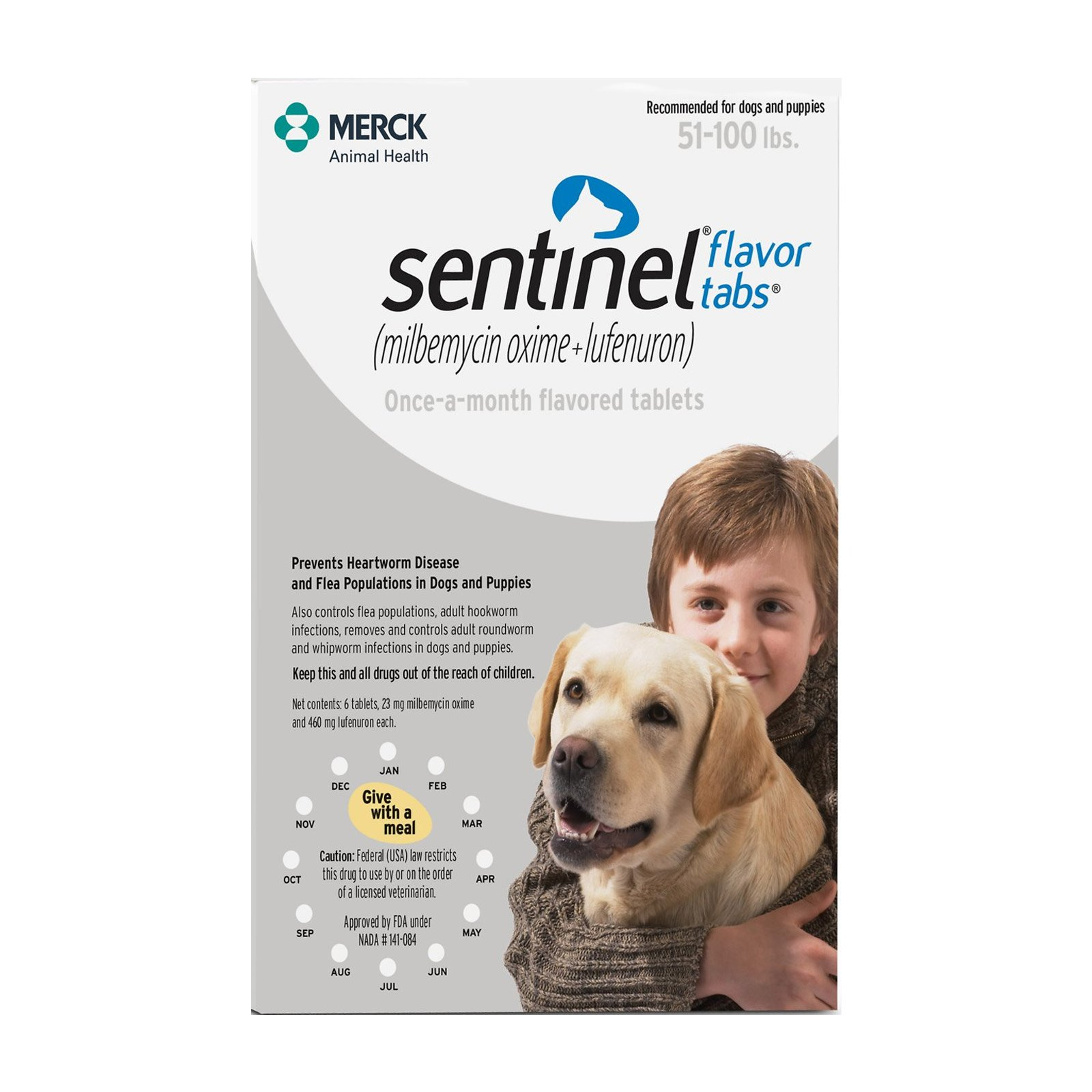 sentinel-for-dogs-51-100-lbs-white