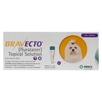 Bravecto Topical for Dog Supplies