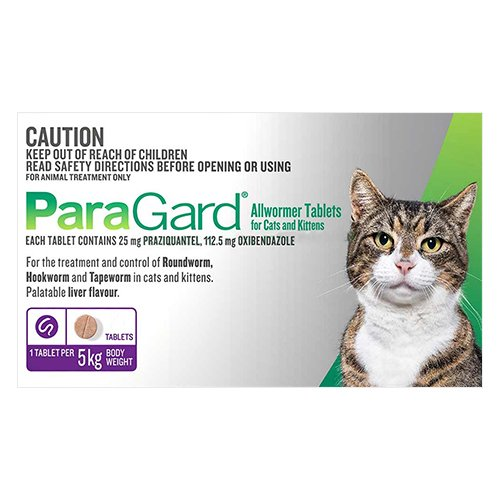 Paragard Wormer for Cat Supplies