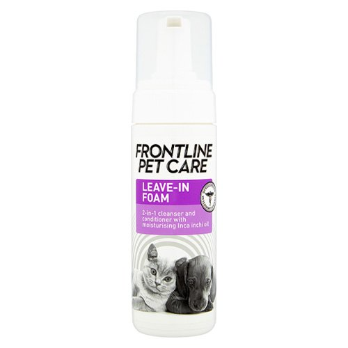 Frontline Pet Care Leave In Foam for Dog Supplies