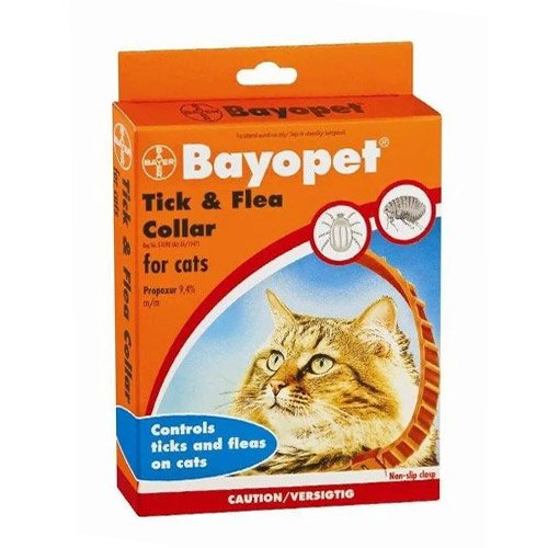 Bayopet Tick and Flea Collar for Cats