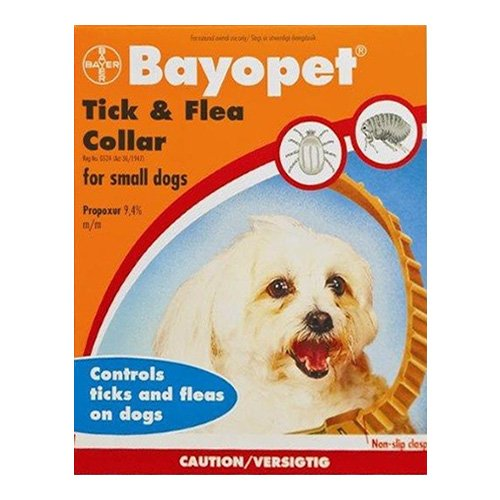 Bayopet Tick and Flea Collar for Dogs