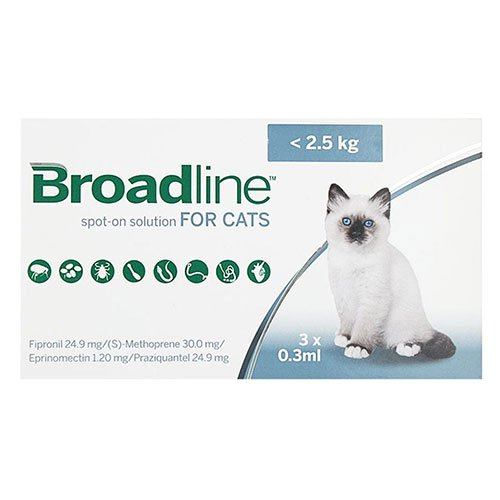 Broadline Spot-On Solution for Cats