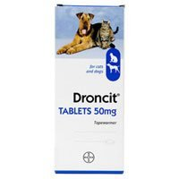 Buy Droncit Tapewormer for Dogs
