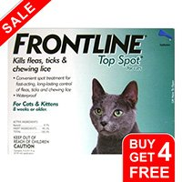 Frontline-Top-Spot-Cats-Green-free-of
