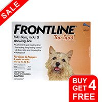 Frontline-Top-Spot-Small-Dogs-0-22-lbs-Orange-free-of
