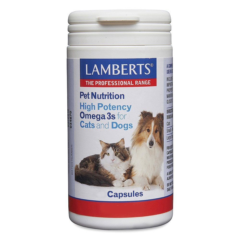 Lamberts High Potency Omega for Dogs and Cats