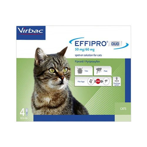 Effipro DUO Spot-On  for Cats