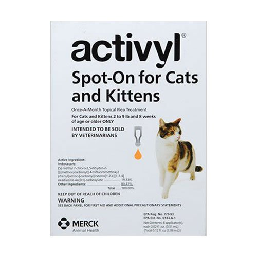 Buy Activyl Flea Control Spot-On for Cats