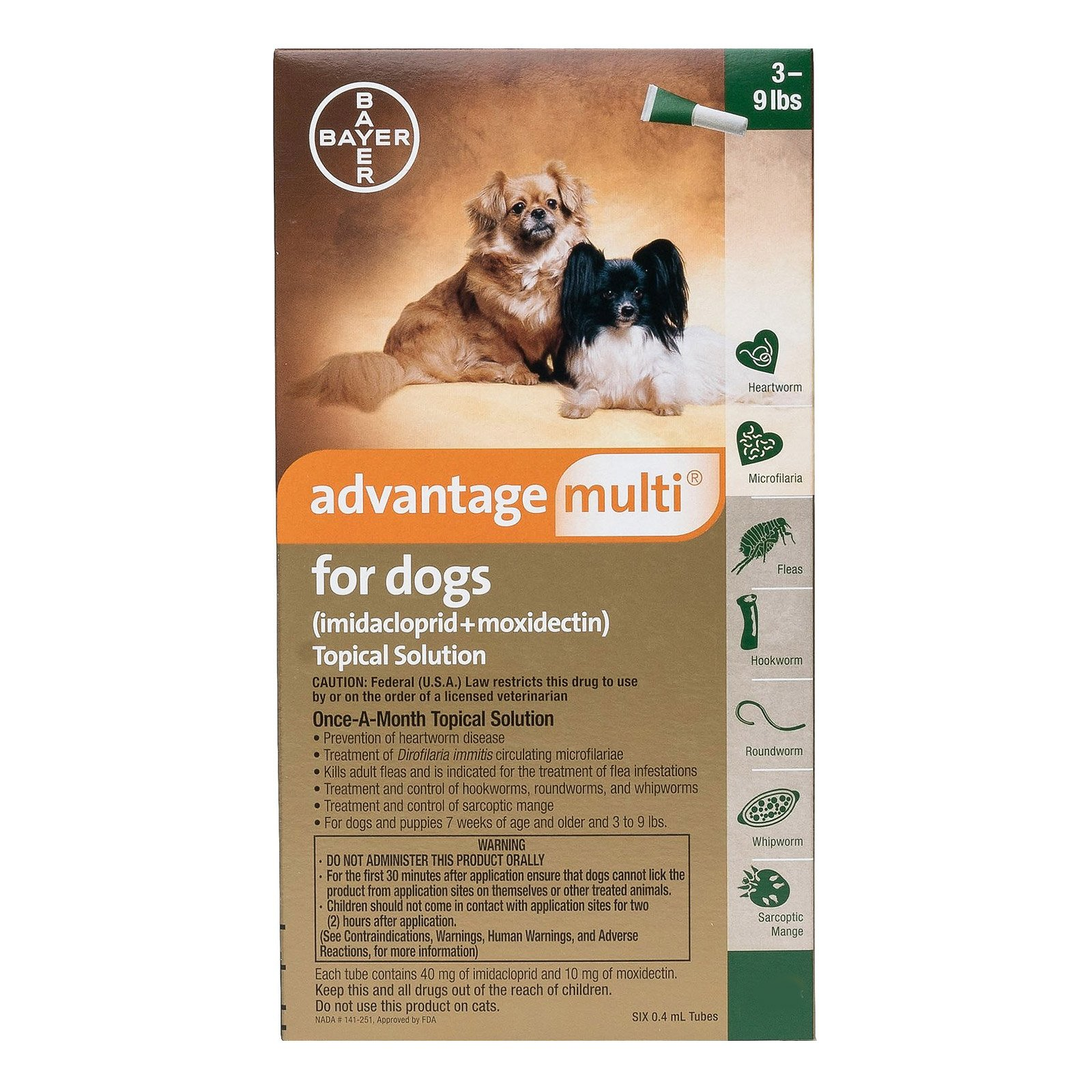 Advantage Multi (Advocate) for Dog Supplies