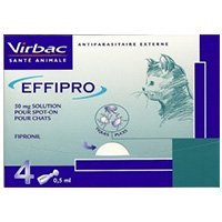 Effipro Spot-On Solution  for Cat Supplies
