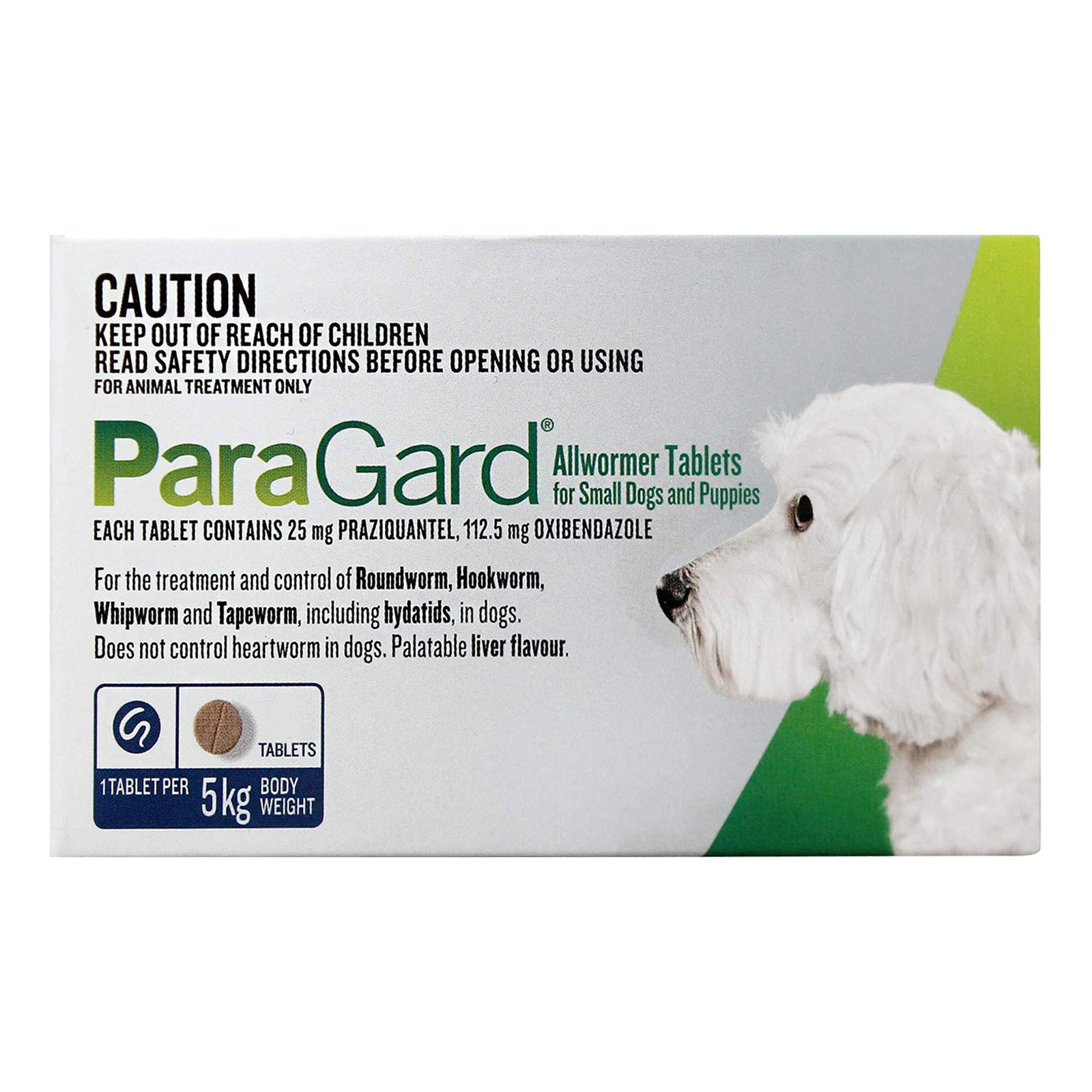 Paragard Allwormer for Dog Supplies