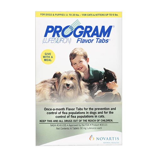Program Flavour Tabs for Dogs