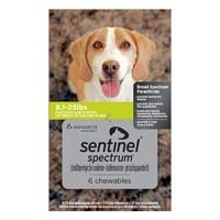 Sentinel Spectrum for Dog Supplies
